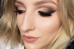 Makijaż cut crease