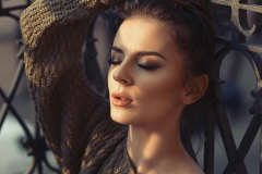 Delikatny makijaż