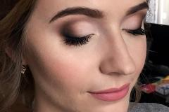 Matowy makijaż oka