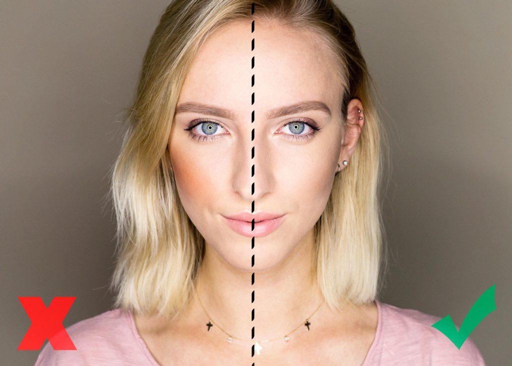 jak konturować twarz
