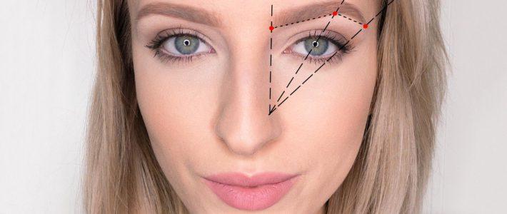 Makijaż | Jak malować brwi ?